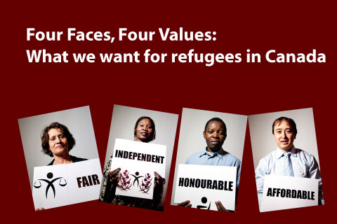 4faces 4values slide