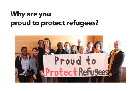 Why are you proud to protect refugees? slide EN