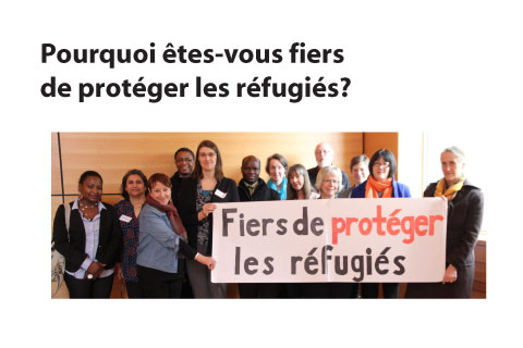 Why are you proud to protect refugees? slide FR