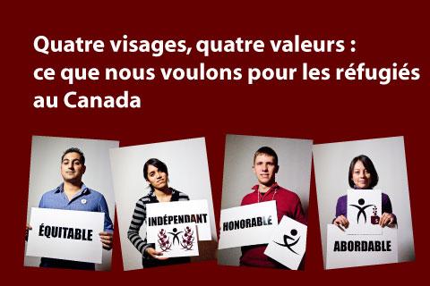 Ce que nous voulons pour les réfugiés au Canada