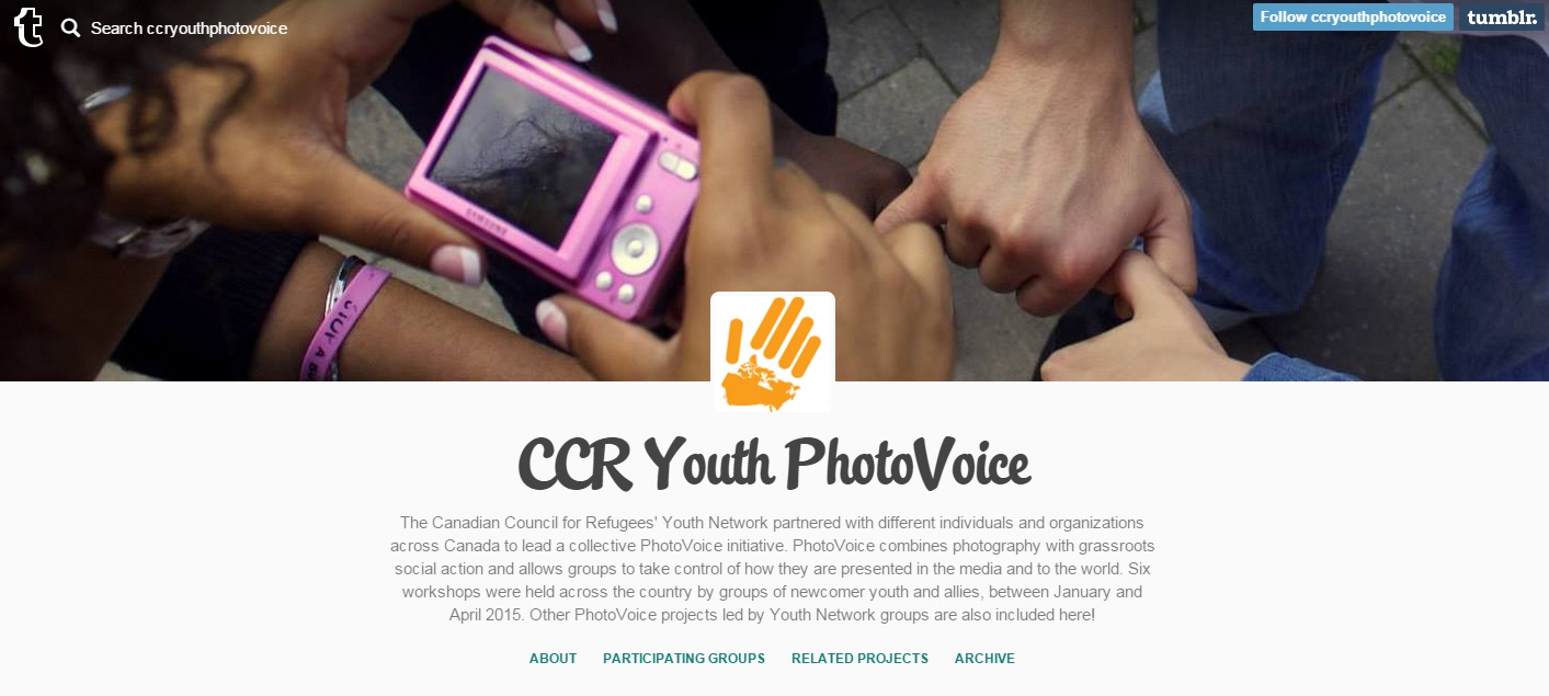 CCR Youth PhotoVoice Blog