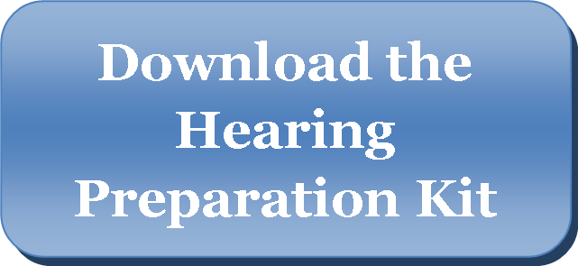 Download the Hearing Preparation Kit