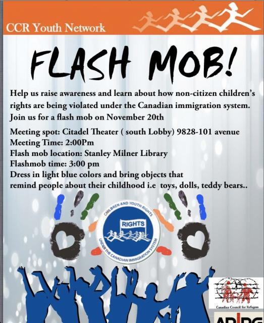 Get ready for the NATIONAL FLASH MOB! | Canadian Council ...
