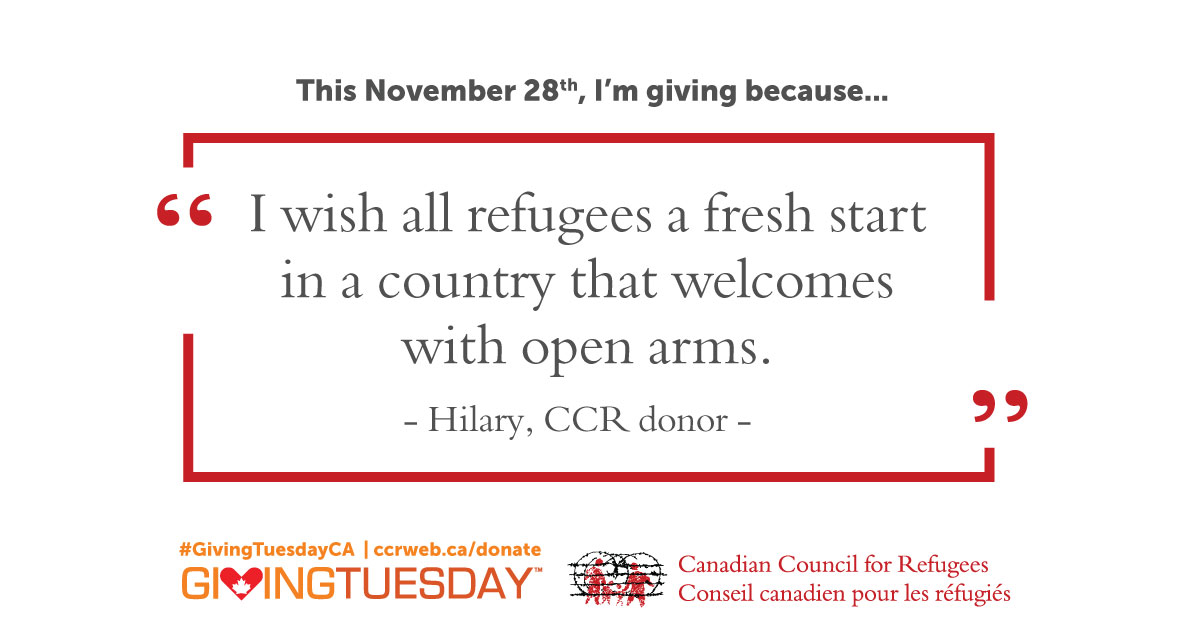 This November 28th, I'm giving because...
