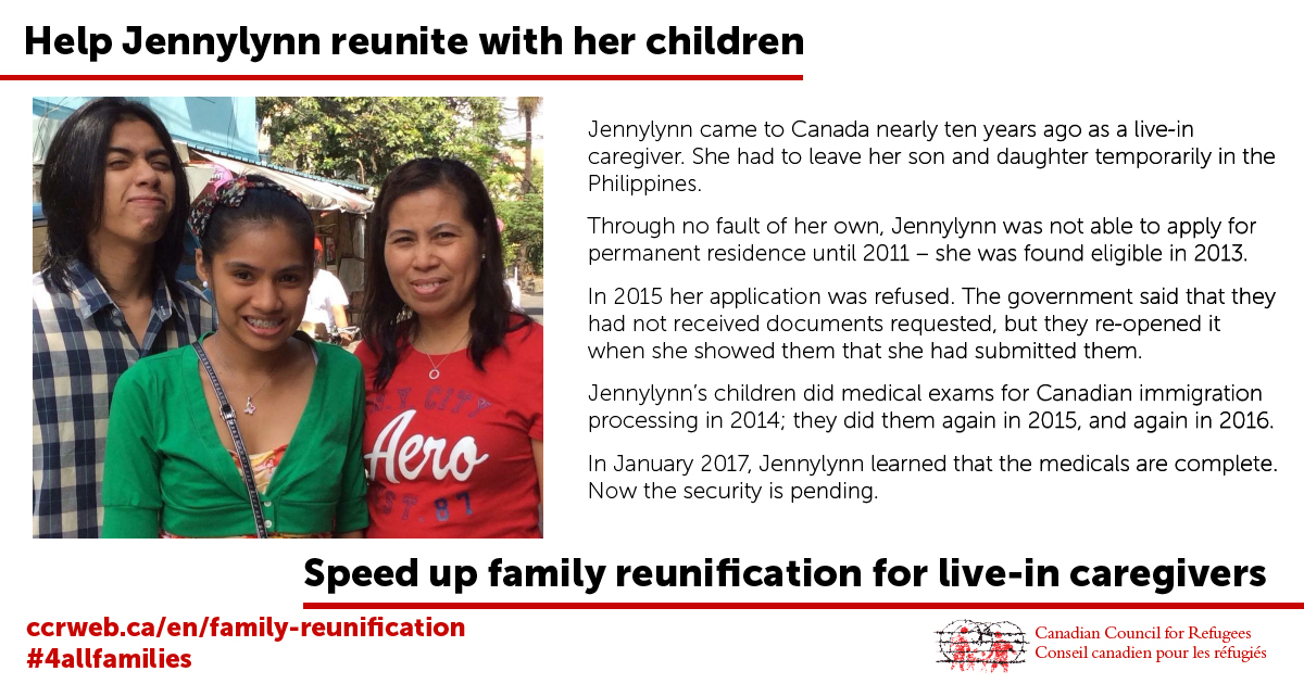 Help Jennylynn reunite with her children