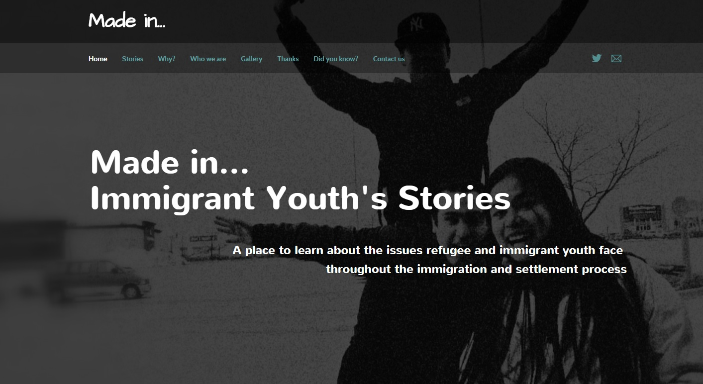 Made in... Immigrant Youth's Stories