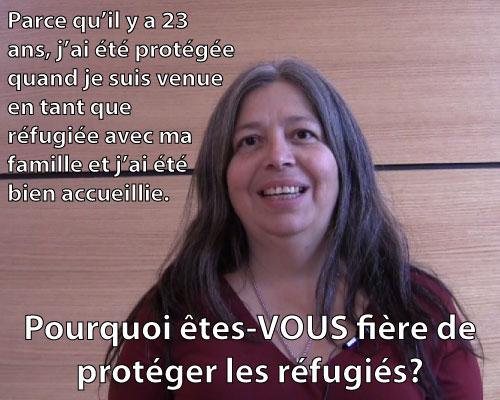 Fiere de protéger les réfugiés