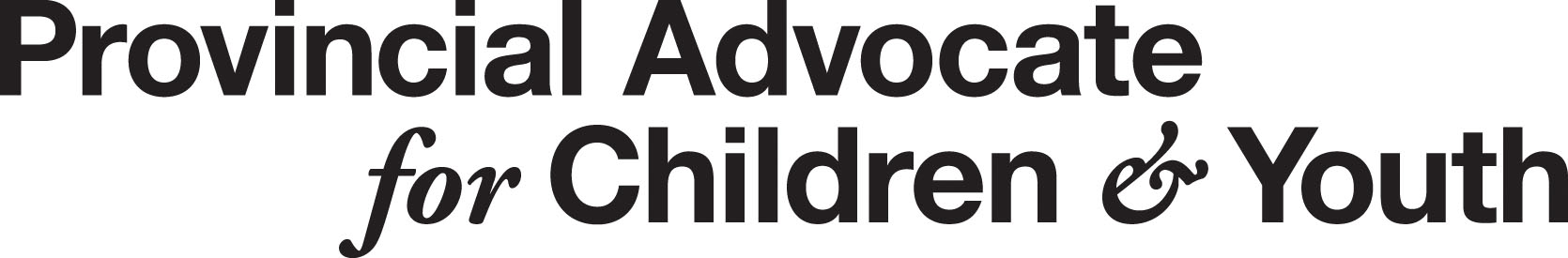 Office of the Provincial Advocate for Children and Youth