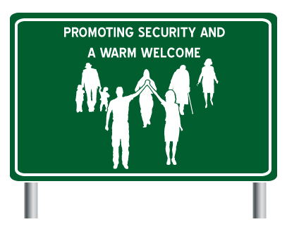 Promoting Security and a Warm Welcome