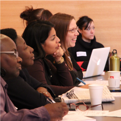 Participants at a CCR Working Group meeting in Toronto
